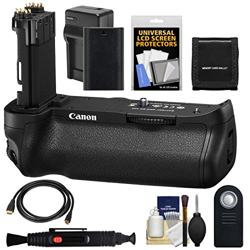 Canon BG-E20 バッテリー Grip for EOS 5D マーク IV デジタル SLR Camera with LP-E6 バッテリー & Charger + Remote + HDMI ケーブル + キット 「汎用品」(海外取寄せ品)