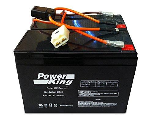 Razor Ground Force Drifter Go Kart リプレイスメント Batteries. インクルーズ New Wiring Harness (2) 9ah Batteries. 「汎用品」(海外取寄せ品)