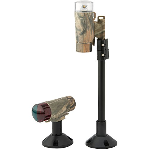 Attwood ネジ/Glue-On Portable Telescoping Led Light キット Camo (Part #14193-7 By Attwood Marine) (海外取寄せ品)