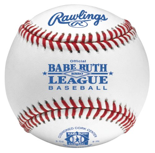 Rawlings RBRO Babe Ruth Tournament Grade ベースボール (One Dozen) (海外取寄せ品)