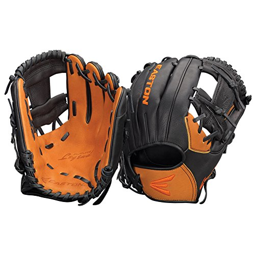 Easton Future Legend Series FL1125BKTN Right ハンド スルー 11.25 in Youth Infield パターン (海外取寄せ品)