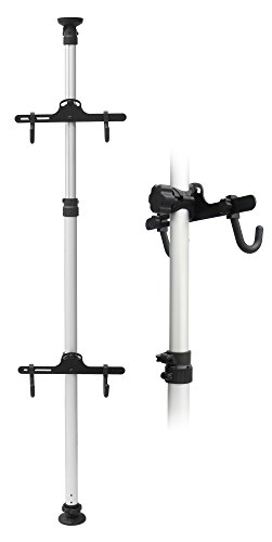 Bicycle バイク Hanger Parking Rack ストレージ フロアー to Ceiling Stand 3.4m (海外取寄せ品)