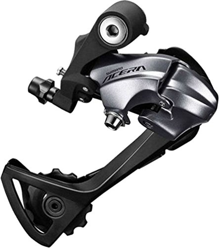 Shimano Acera 9 スピード Mountain Bicycle Rear Derailleur - RD-T3000 (Silver - TOP-NORMAL, ダイレクト ATTACHMENT) (海外取寄せ品)