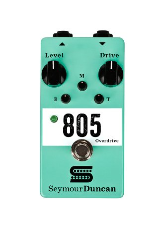 Seymour Duncan 805 Overdrive Pedal Guitar Distortion Effects Pedal (海外取寄せ品)