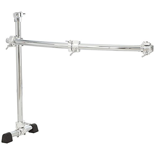 Gibraltar GCS150C クローム Series 40-インチ Curved Rack Side with クイック リリース T Clamps & RMAAs (海外取寄せ品)