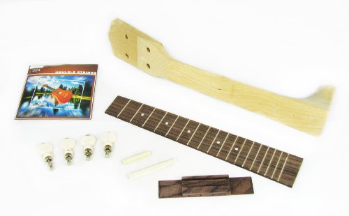 Concert Ukulele Parts パック - Everything except the body! (海外取寄せ品)