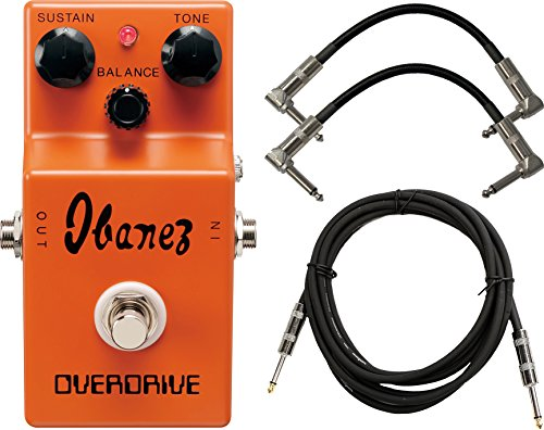 Ibanez OD850 Overdrive Reissue Pedal w/ 3 ケーブル (海外取寄せ品)