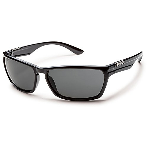 Suncloud オプティック Cutout Polarized Sunglasses(Gray Polarized,Black) 『海外取寄せ品』