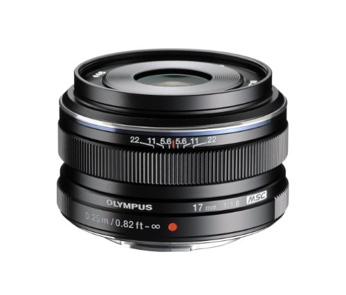 Olympus M.Zuiko 17mm f1.8 (Black) for Olympus and Panasonic Micro 4/3 Cameras (海外取寄せ品)