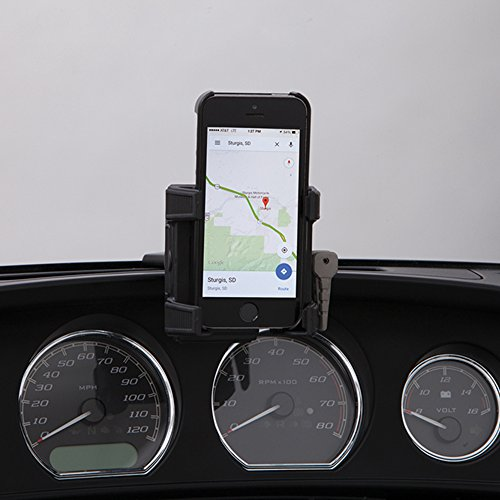 Ciro 50317 Smartphone/GPS Holder (Black Fairing Mount Without Charger For 2014-2016 Flht/Flhx ツーリング Models) (海外取寄せ品)