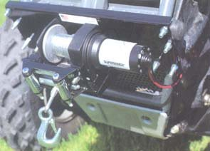 Cycle カントリー 25-2270 Winch Mount キット for Kawasaki Mule 4010 (海外取寄せ品)