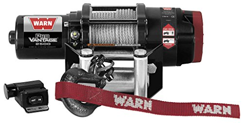 New Warn ProVantage 2500 lb Winch With Model Specific Mounting Hardware - 2000-2007 ヤマハ ビッグ クマ 400 4x4 ATV (海外取寄せ品)