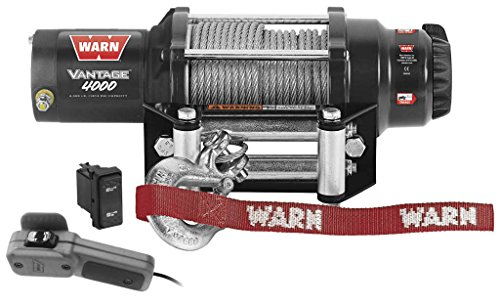 New Warn バンテージ 4000 lb Winch With Model Specific Mounting Hardware - 2011-2014 Can-Am コマンダー 800R XT UTV (海外取寄せ品)