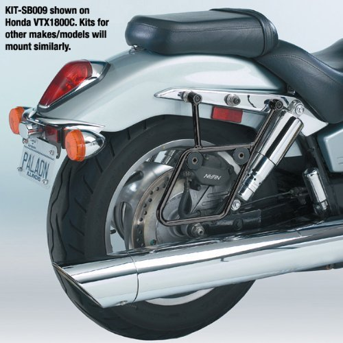 National Cycle Cruiseliner Hard Saddlebags ブラック Mount キット for Suzuki 1998-2009 - One サイズ (海外取寄せ品)