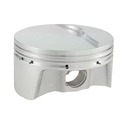 CP Pistons (BLS1009-007-8) ビュレット Series 3.905 Bore Flat Top Piston セット with リング for GM LS エンジン (海外取寄せ品)