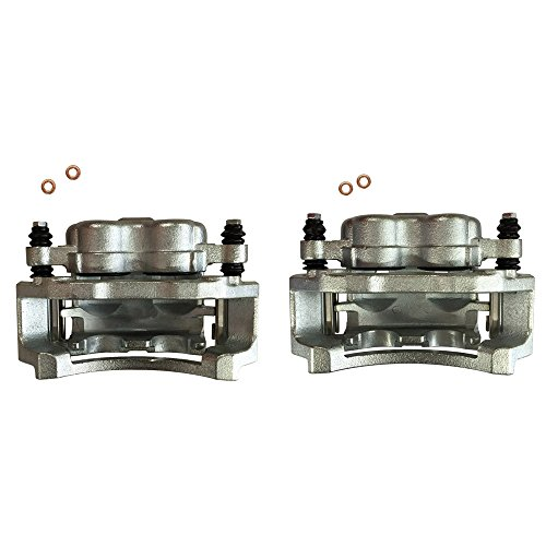 DRIVESTAR 18B4748+18B4749 Completely New Top クオリティー Rear Brake Calipers ペア セット for 02-07 E-350 Super Duty (海外取寄せ品)