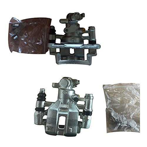 DRIVESTAR 19B1010+19B1011 ペア of 2 OE-クオリティー NEW Rear ディスク Brake Caliper for 85-87 Toyota Corolla (海外取寄せ品)