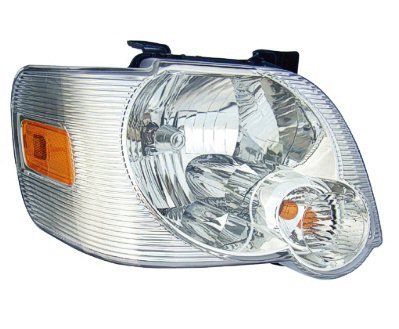 PASSENGER SIDE CAPA HEADLIGHT Ford エクスプローラー, Ford エクスプローラー スポーツ Trac HEAD LIGHT ASSEMBLY; CLEAR LENS; EXCLUDES XLT WITH アイアンマン Ironman PACKAGE; XLT WITH スポーツ PACKAGE; (海外取寄せ品)