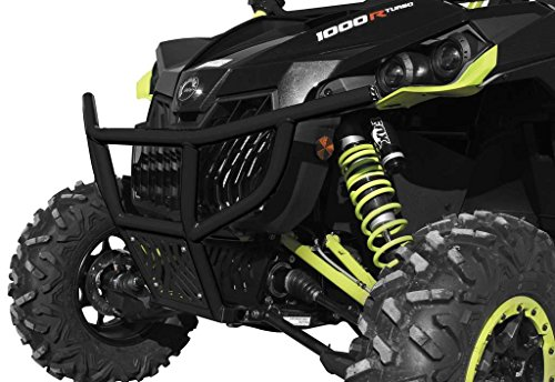 New ブラック Dragonfire Racepace フロント Bash Bumper - 2015-2016 Can-Am Maverick?1000?X?ds/Turbo UTV (海外取寄せ品)