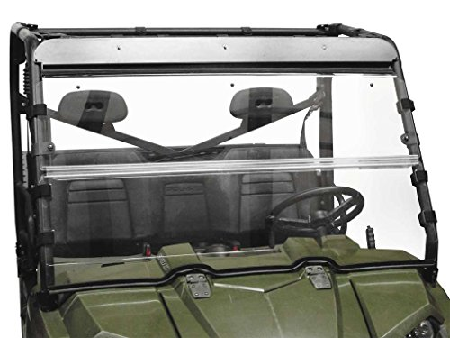 New Seizmik Versa-フリップ Windshield (Acrylic) - 2014 Polaris Ranger?570?EFI?Mid-サイズ UTV (海外取寄せ品)