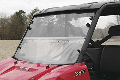 New Seizmik Versa-Fold Windshield (Hard-Coated) - 2015-2016 Polaris RZR?900 UTV (海外取寄せ品)