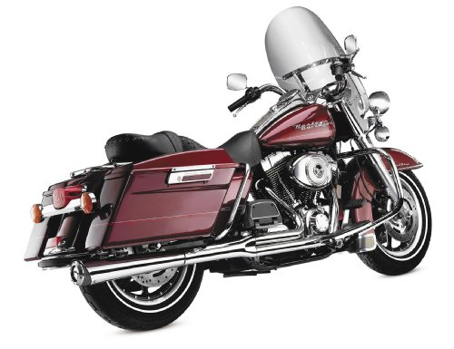 Kerker 128-71578 2:1 SuperMeg Exhaust System with クローム Finish (海外取寄せ品)