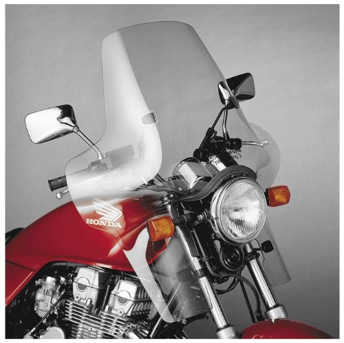 National Cycle Plexifairing Three Windshield For Honda CB1000 1994-1995 / CB600F 2004 / VT1100C シャドー 1987-1990 and 1992-1994 / VT600C シャドー VLX 1988-2007 / Honda VT600CD シャドー VLX 1993-2007 - 22 インチ Height x 31-1/2 インチ ワ・ (海外取寄せ品)