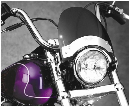 National Cycle Fork Mount Flyscreen Windshield For ハーレーダビッドソン Harley Davidson FX 1971-2005 :: Honda CB250 Nighthawk 1991-2008 / CMX250C Rebel 1985-1987 and 1996-2006 / CMX450C Rebel 1986-1987 :: Triumph アドベンチャー 1996-2002 (海外取寄せ品)