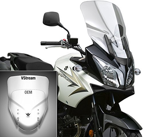 National Cycle VStream Clear Windscreen for 2004-2011 スズキ Suzuki DL650/1000 V-Strom - One サイズ (海外取寄せ品)