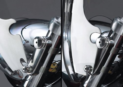 National Cycle Switchblade Windshield クイック-リリース Hardware キット For Suzuki VL800 Intruder Volusia 2001-2004 / C50 Boulevard 2005-2009 - キット-Q202 (海外取寄せ品)