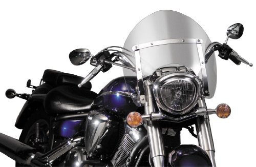 National Cycle Switchblade Shorty Clear Windshield for 2005-2014 Suzuki C50 Bou - One サイズ (海外取寄せ品)