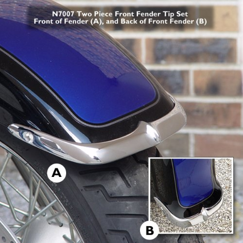 National cycle n7007 fender tip フロント suz (N7007) (海外取寄せ品)
