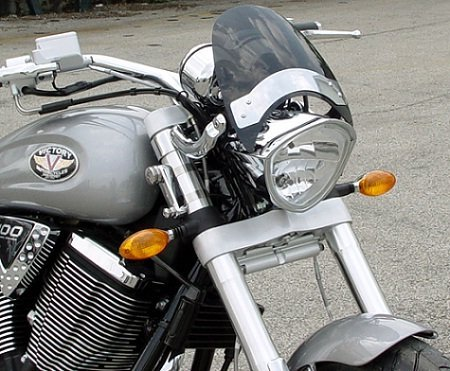 National Cycle FlyscreenR Windshield ダーク ティント 2005-2009 Victory ハマー / N2537 (海外取寄せ品)
