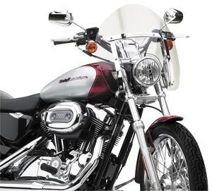 National Cycle Switchblade Shorty Windshield - Clear (海外取寄せ品)