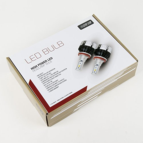 Nokya 9006/HB4 ハイ Power 6000K LED Headlight Bulb セット (Includes 2 Bulbs) NOK8110 (海外取寄せ品)
