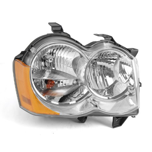 Omix-Ada 12402.22 Right ハンド Headlight Assembly (海外取寄せ品)