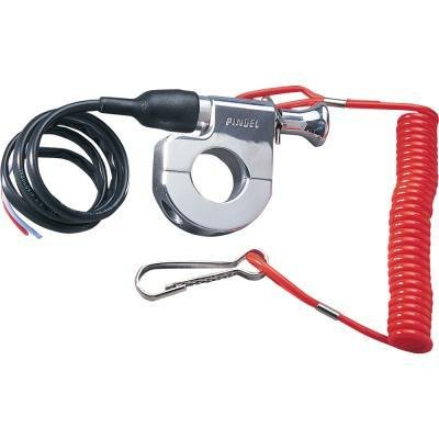 Pingel Tether Kill Switch for 7/8in. Handlebars 640 (海外取寄せ品)