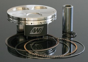 Wiseco 4976M07700 77.00mm 14:1 Compression 250cc Motorcycle Piston キット (海外取寄せ品)
