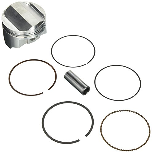 Wiseco 4117M08950 89.50mm 10.5:1 Compression 503cc Motorcycle Piston キット (海外取寄せ品)