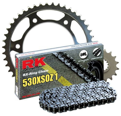 RK レーシング チェーン 4067-940W スチール Rear Sprocket and 530XSOZ1 チェーン 20,000 Mile キット (海外取寄せ品)