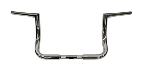 Todds Cycle Ape Hanger 1 1/4in. Handlebar - 10in. Rise - クローム, ハンドル Bar サイズ: 1 1/4in., カラー: クローム 0601-2562 (海外取寄せ品)