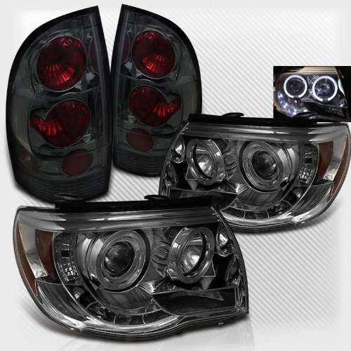 Rxmotoring 2005 Toyota Tacoma Headlights Projector + Tail Light (海外取寄せ品)