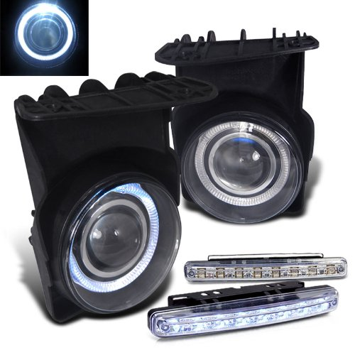 Rxmotoring 2003-2006 Gmc Sierra Fog Light + 8 Led Bumper ランプ (海外取寄せ品)