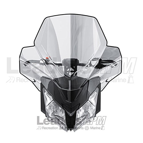 スキー-Doo New OEM Ultra ハイ Windshield, Clear, REV-XM, REV-XS, 860201185 (海外取寄せ品)