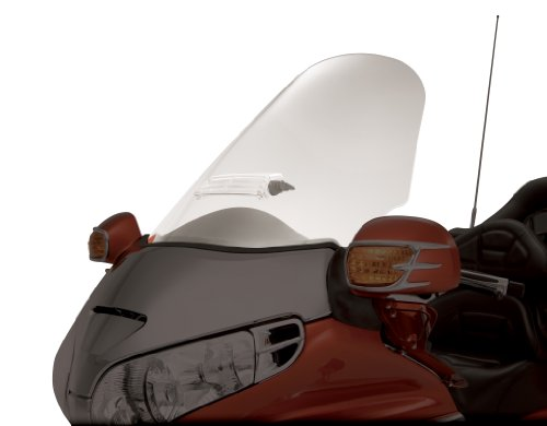 ショー クローム Accessories 20-518 Clear Sweptback Windshield (海外取寄せ品)