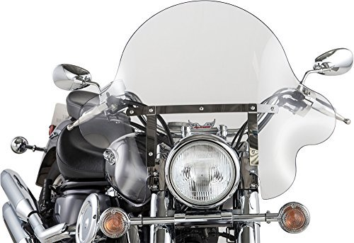 Slipstreamer Windshield - Vented - 27-1/2 インチ - Clear - S-166V-C WP (海外取寄せ品)