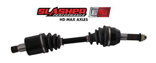Slasher 2012 Can Am-BRP Outlander マックス 650 4X4 EFI XT/XTP ATV HD マックス Heavy Duty Complete Full Shaft CV Axle [Front Left Side] (海外取寄せ品)