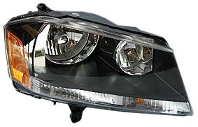 TYC 20-6893-90 Dodge アベンジャー Passenger Side Headlight Assembly (海外取寄せ品)