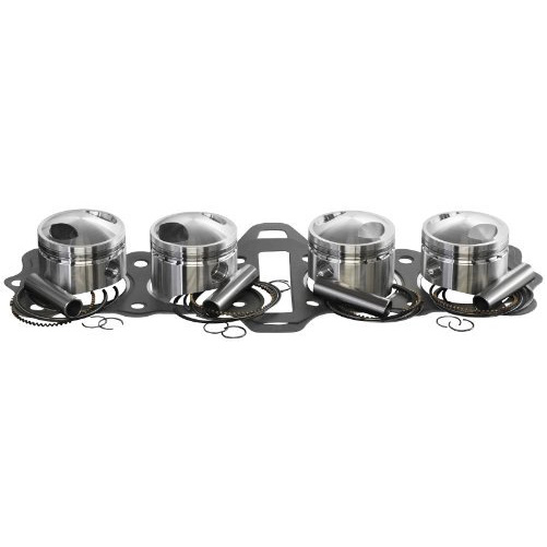 Wiseco (CK149) 92.0mm 10.5:1 Compression Ratio 4-Stroke Motorcycle Top エンド Piston キット (海外取寄せ品)