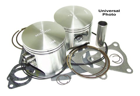 Wiseco (SK1229) 77.50mm 2-Stroke Piston キット for スキー-Doo Snowmobile (海外取寄せ品)